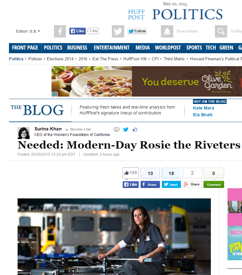 Needed  Modern Day Rosie the Riveters   Surina Khan_HuffPost_screenshot